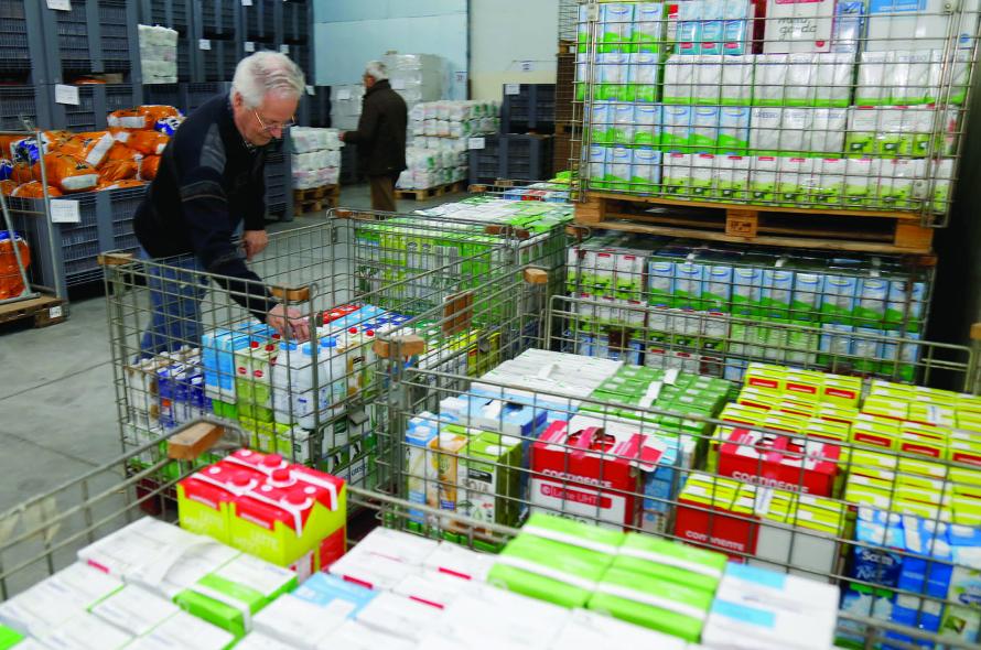 Banco Alimentar recolheu 1.100 toneladas de alimentos no primeiro dia da campanha